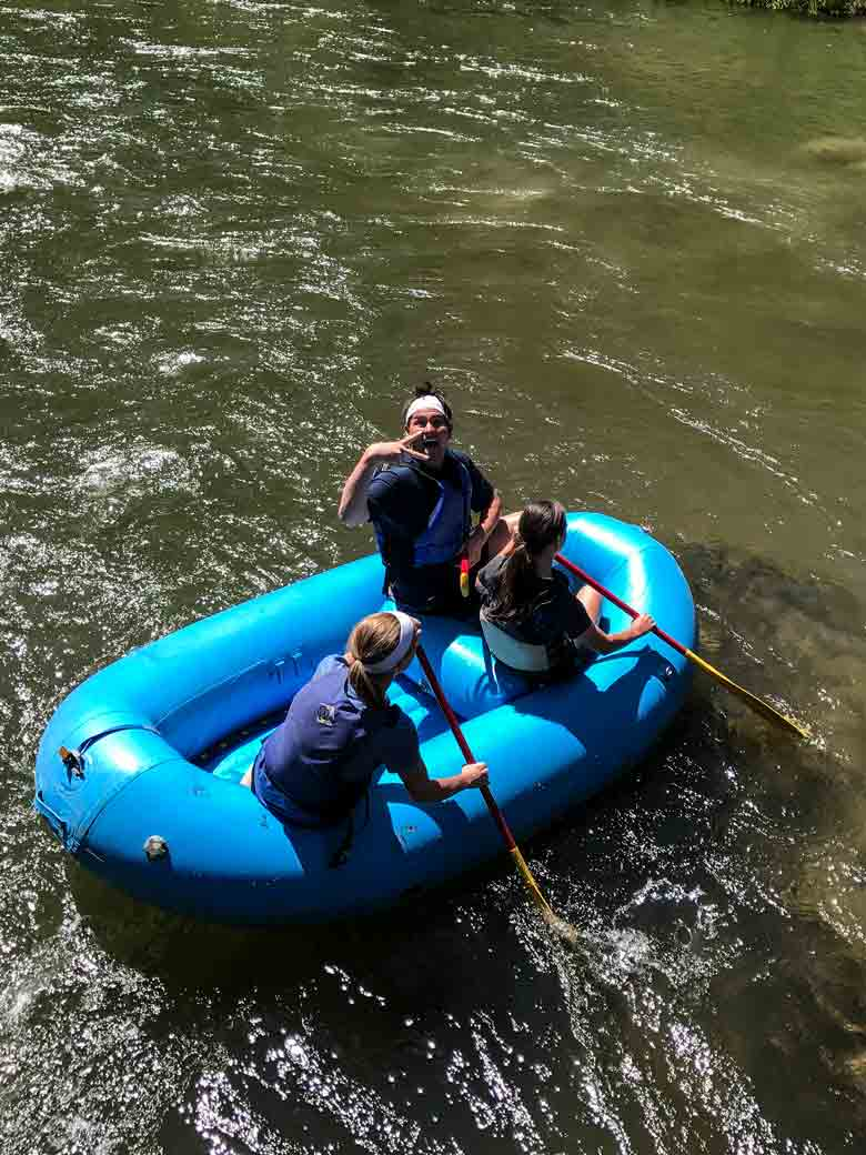 We sell 10-ft., 14-ft., & 16-ft. whitewater rafts. Good for oar boats, frames, paddle boats & gear boats.