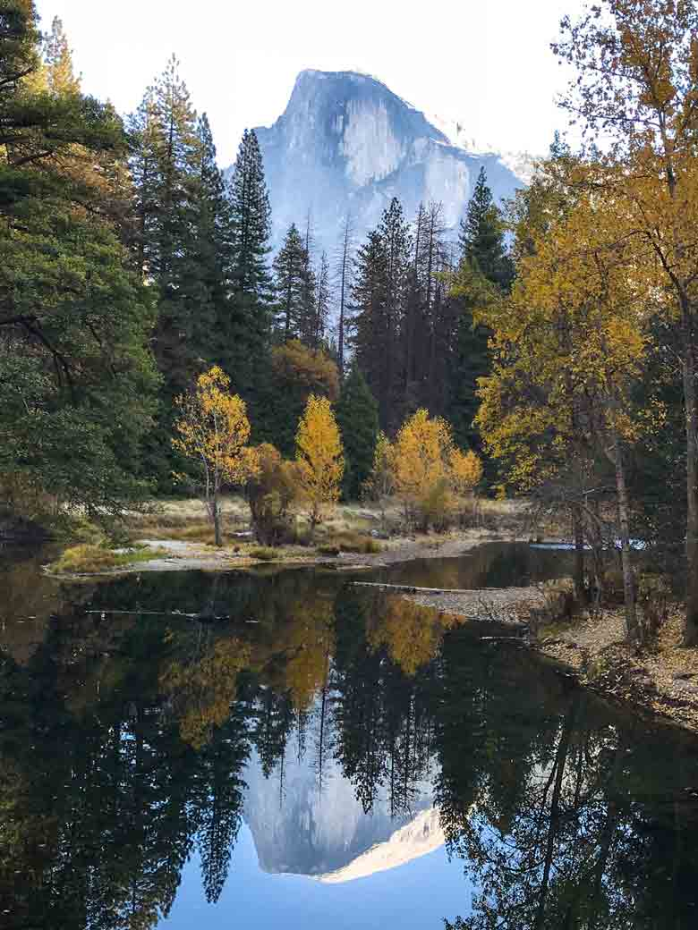 A view of Half Dome in Yosemite National Park. We visit the park most times we are in California to raft the Kern River.